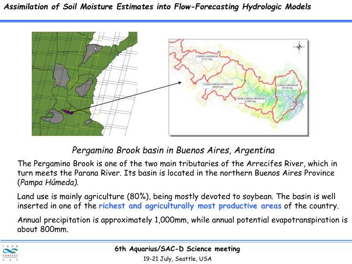 Assimilation of Soil Moisture Estimates into Flow-Forecasting Hydrologic Models