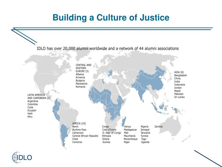 Building a Culture of Justice