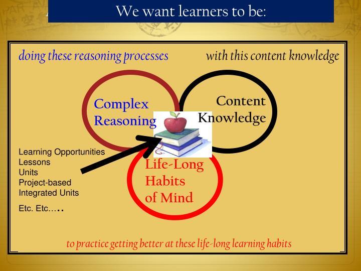 A Model of Curriculum