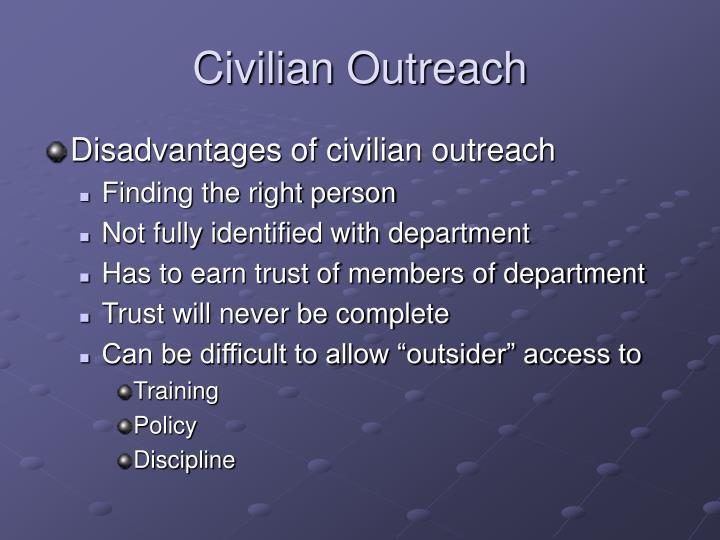 Civilian Outreach