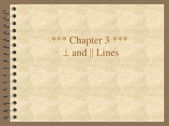 *** Chapter 3 ***