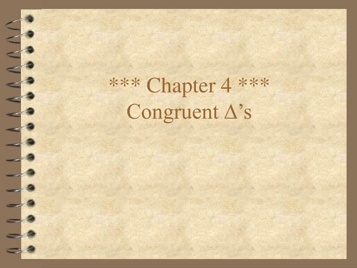 *** Chapter 4 ***