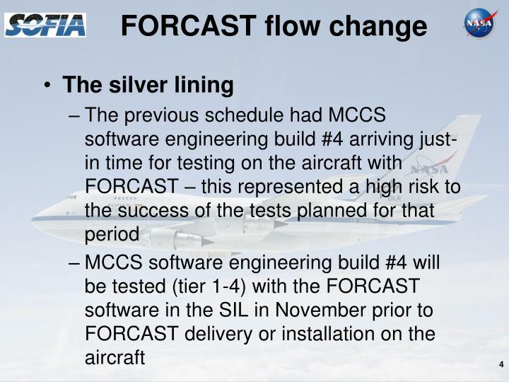 FORCAST flow change