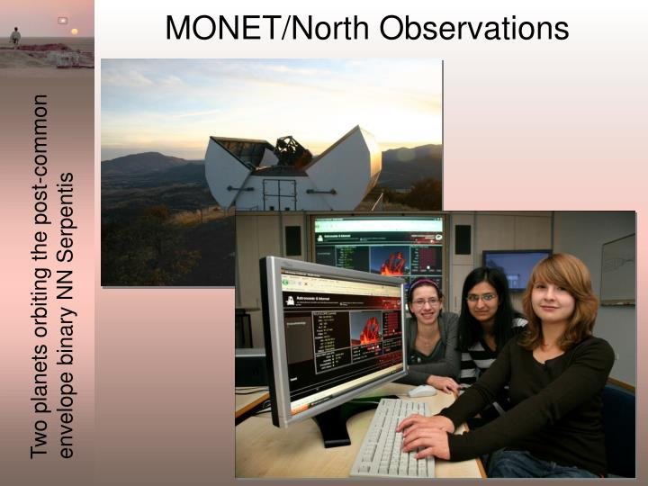 MONET/North Observations