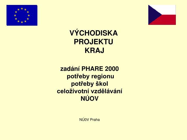 zadání PHARE 2000