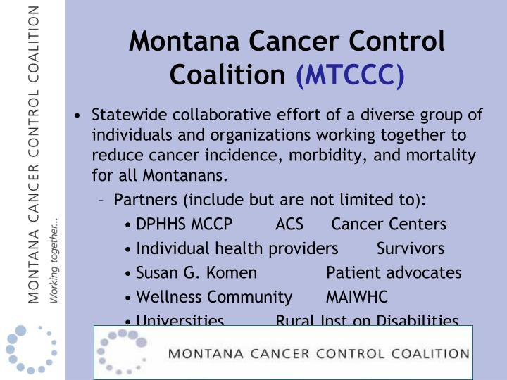 Montana Cancer Control Coalition
