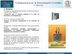 transparencia en la armonizaci n contable 3 sistemas