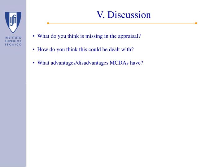 V. Discussion