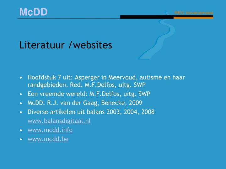 Literatuur /websites