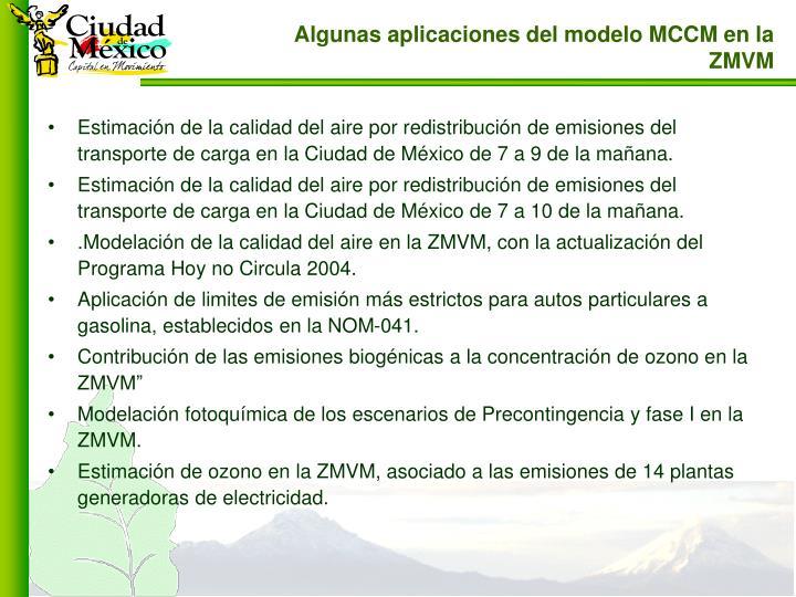 Estimación de la calidad del aire por redistribución de emisiones del transporte de carga en la Ciudad de México de 7 a 9 de la mañana.