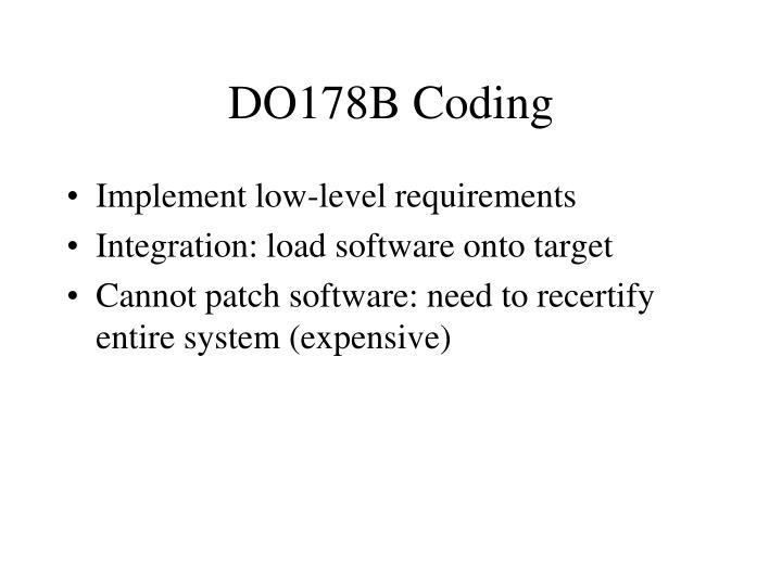 DO178B Coding