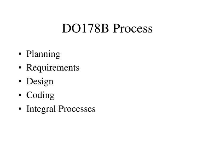 DO178B Process