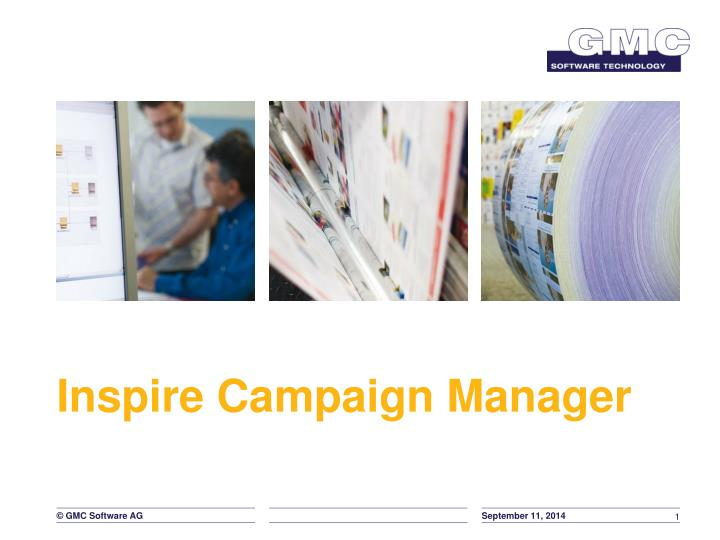 Inspire campaign manager