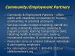 community employment partners