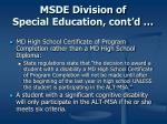 msde division of special education cont d1
