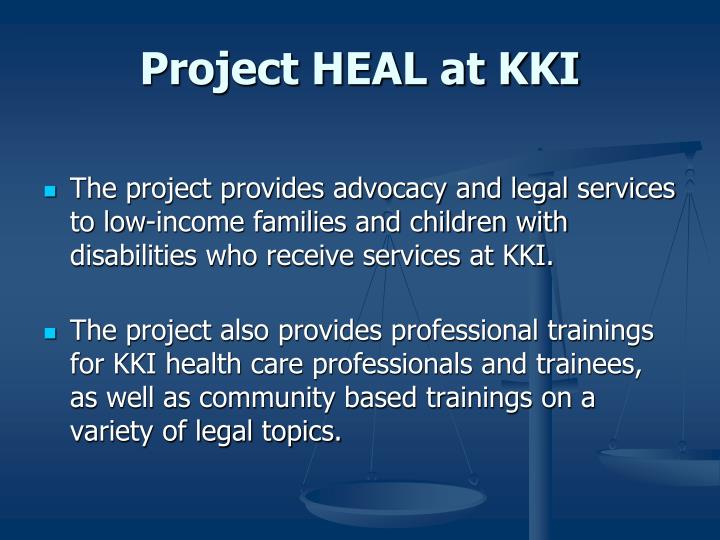 Project HEAL at KKI