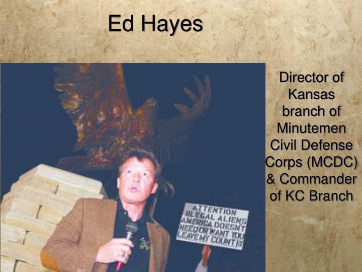 Ed Hayes