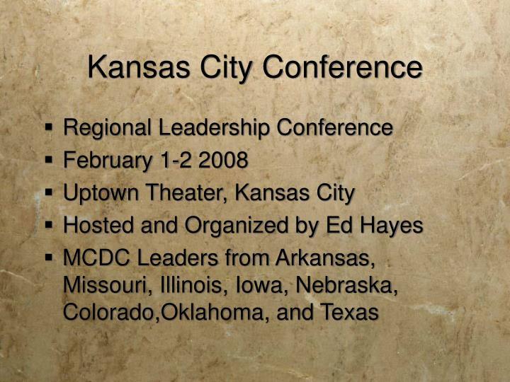 Kansas City Conference