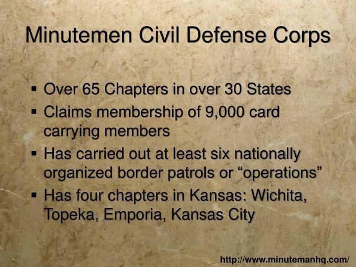 Minutemen Civil Defense Corps