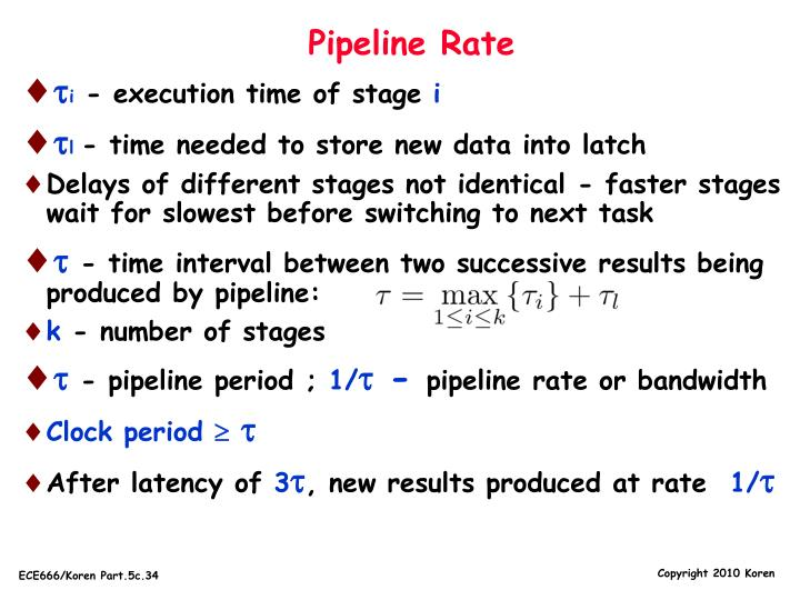 Pipeline Rate