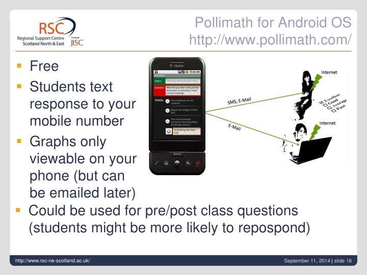 Pollimath for Android OS