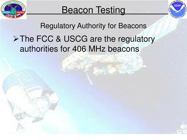 Regulatory Authority for Beacons