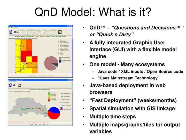 QnD Model: What is it?