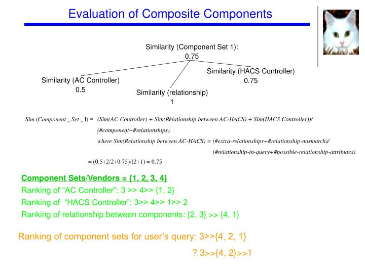 Evaluation of Composite Components