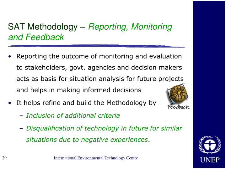 SAT Methodology –