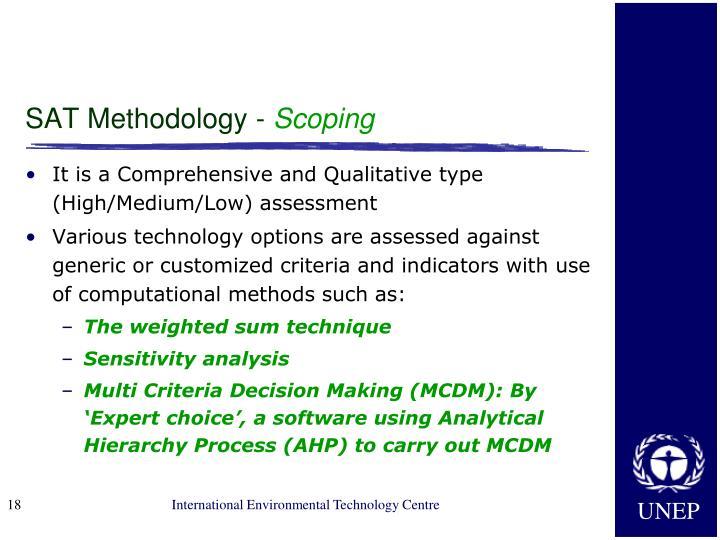 SAT Methodology -
