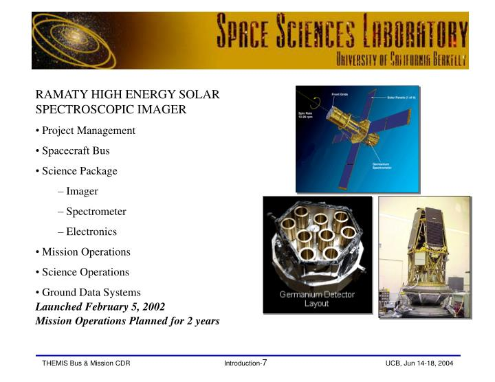 RAMATY HIGH ENERGY SOLAR