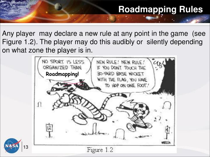 Roadmapping Rules