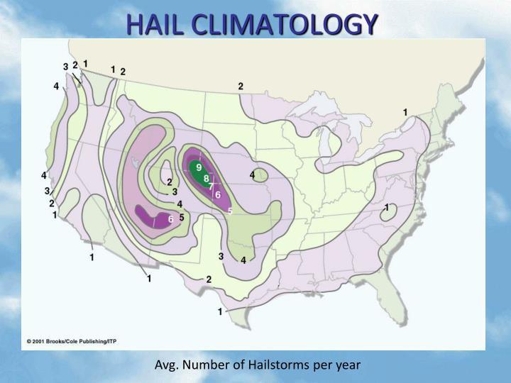 HAIL CLIMATOLOGY
