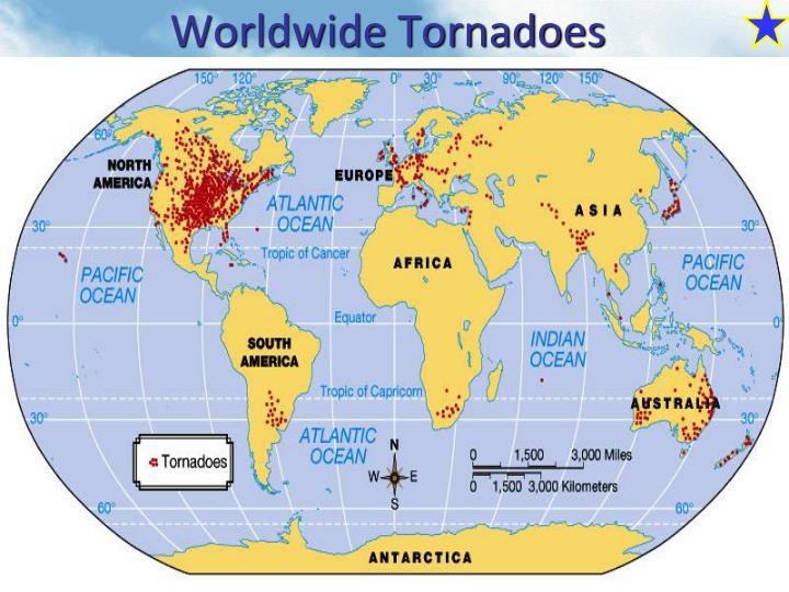 Worldwide Tornadoes