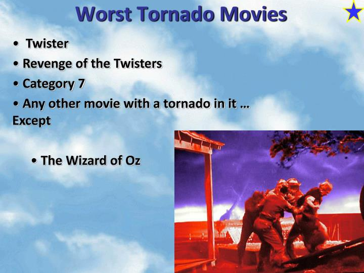 Worst Tornado Movies