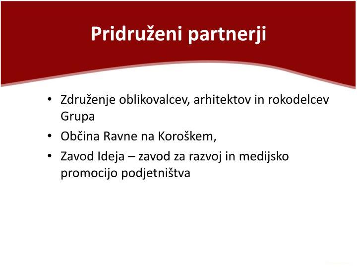 Pridruženi partnerji