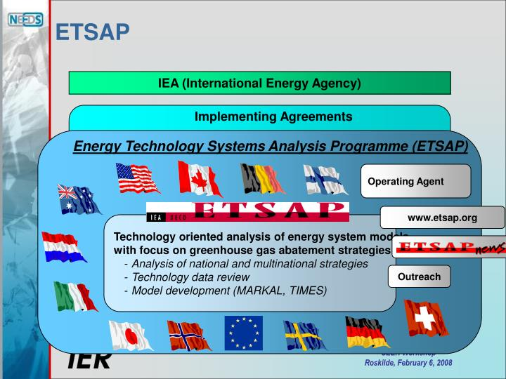 Technology oriented analysis of energy system models