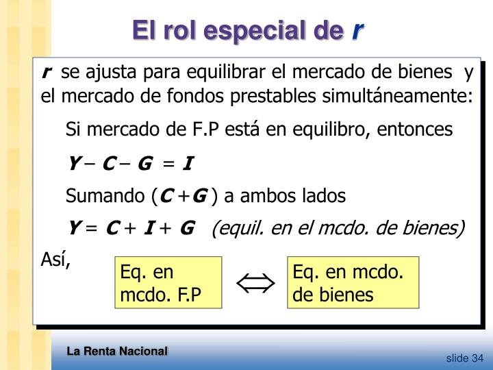 Eq. en mcdo. F.P
