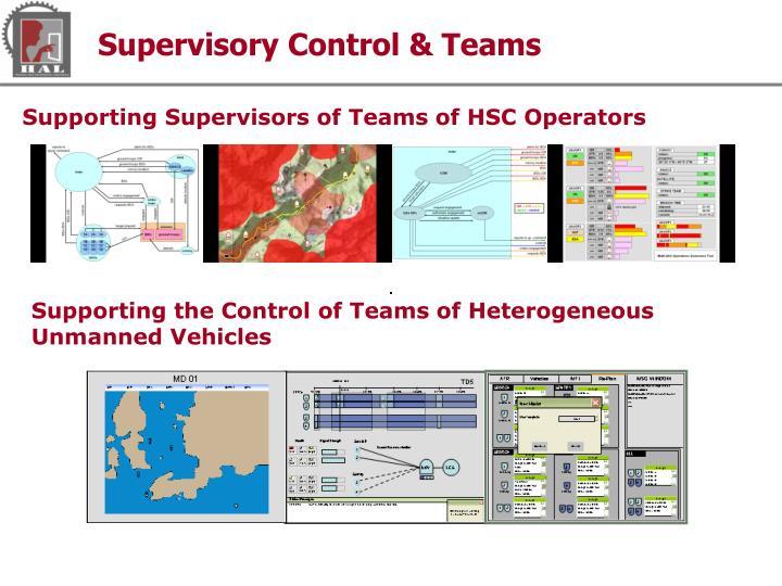 Supervisory Control & Teams