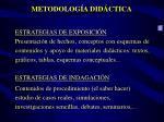 metodolog a did ctica
