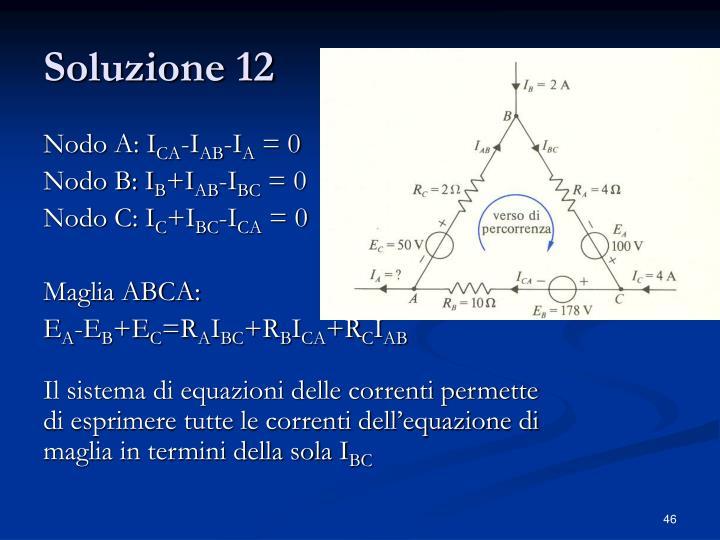 Soluzione 12