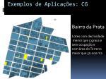 exemplos de aplica es cg6