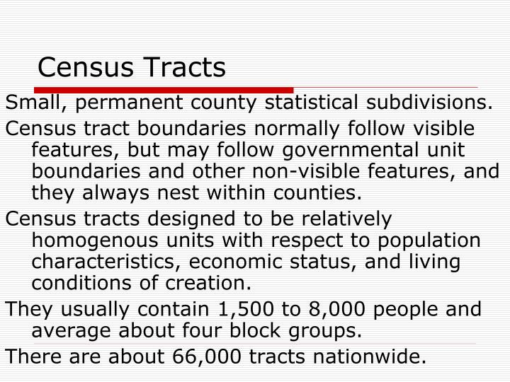 Census Tracts