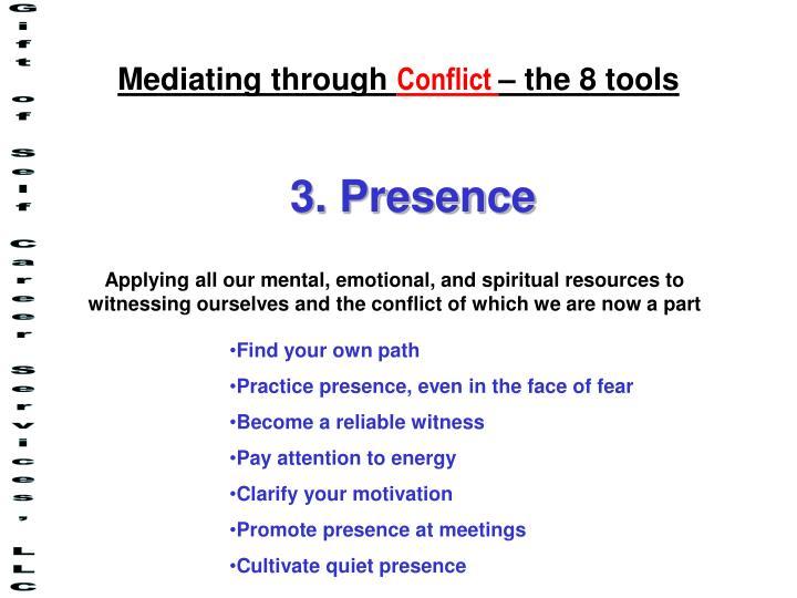 Mediating through