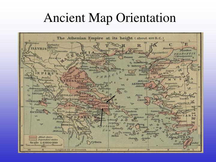 Ancient Map Orientation