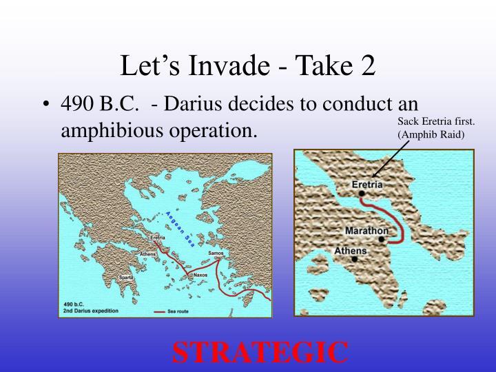 Let's Invade - Take 2