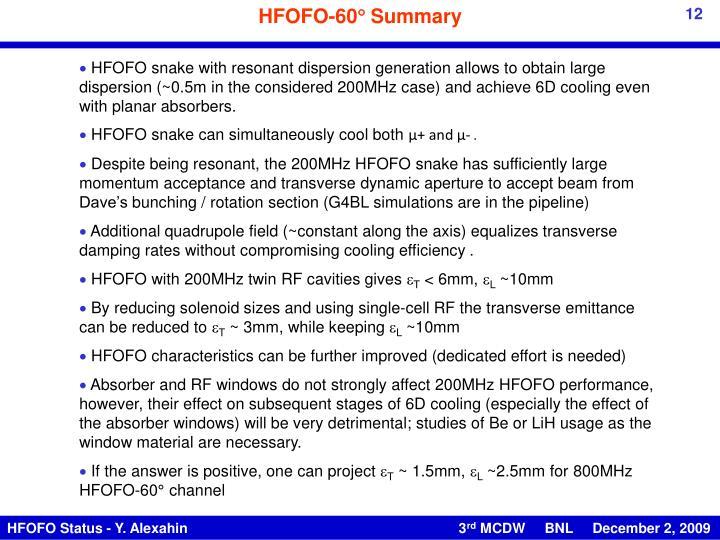 HFOFO-60