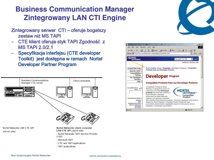 Business Communication Manager