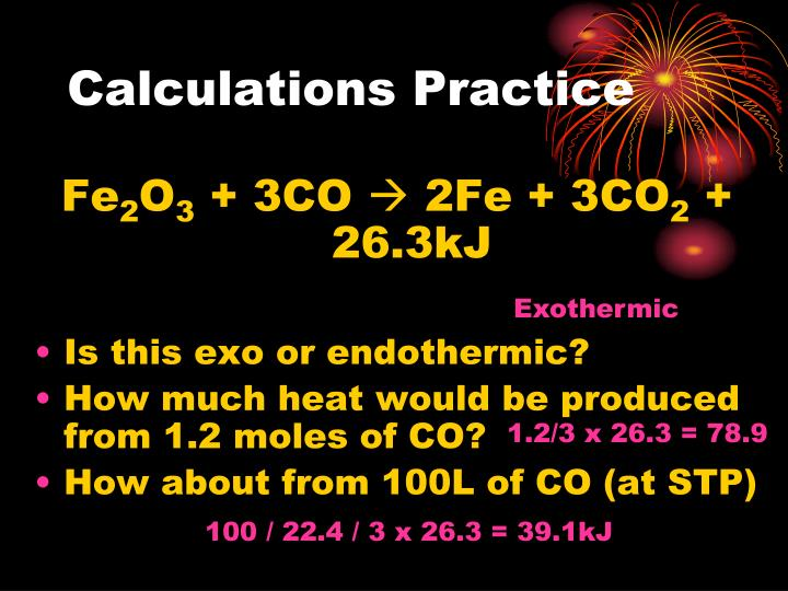 Calculations Practice