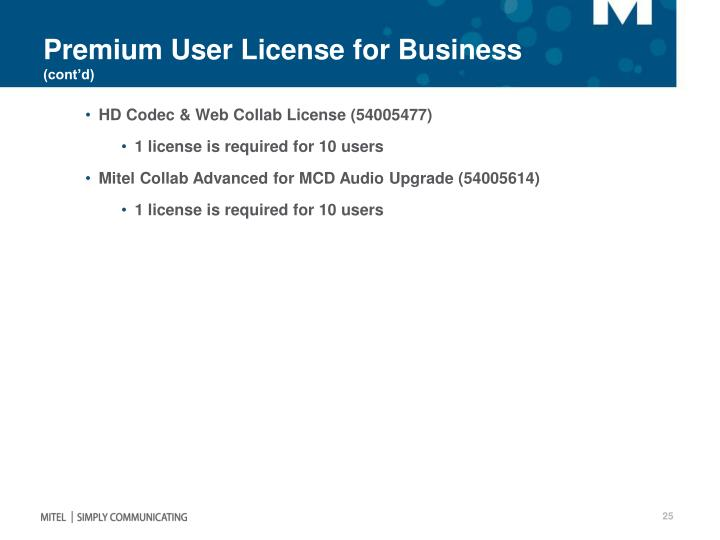 Premium User License for Business